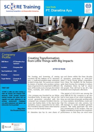 Indonesia: Case Study_ Women leading transformation with help from SCORE Training