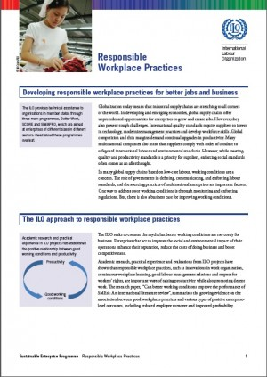 Responsible Workplace Practices