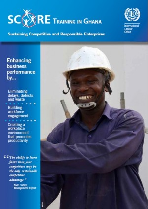 Brochure: SCORE Training Brochure for Small and Medium Enterprises in Ghana