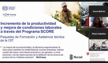 Formación SCORE apoya a pymes bolivianas a enfrentar la COVID-19 con cooperación en el lugar de trabajo y medidas de bioseguridad